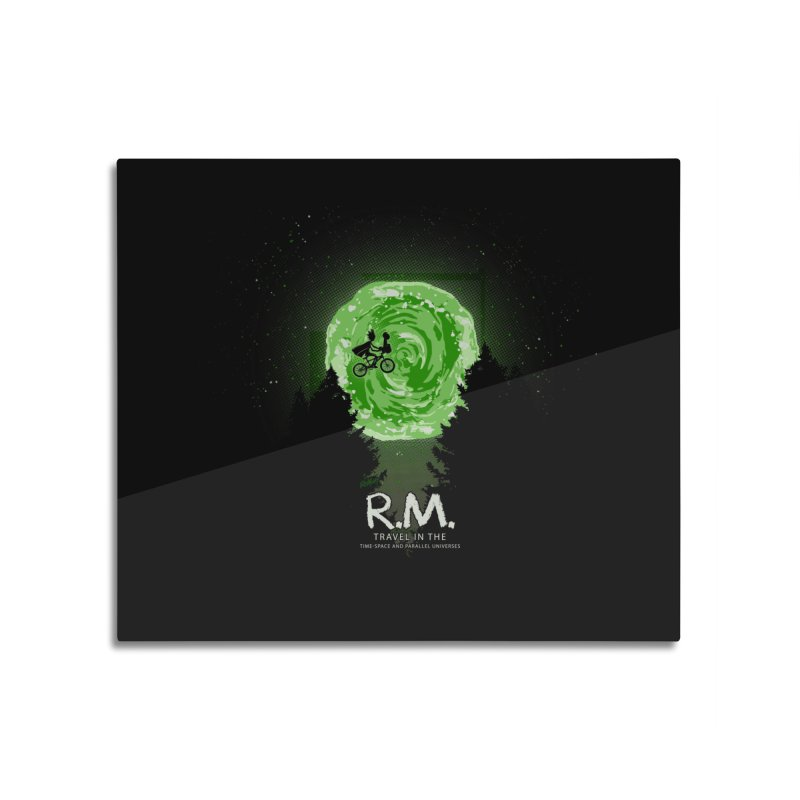 R.M. Home Mounted Acrylic Print by Red Bug's Artist Shop