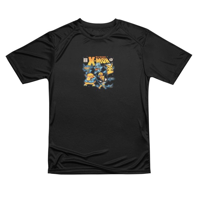 X-Mon Men's Performance T-Shirt by Red Bug's Artist Shop