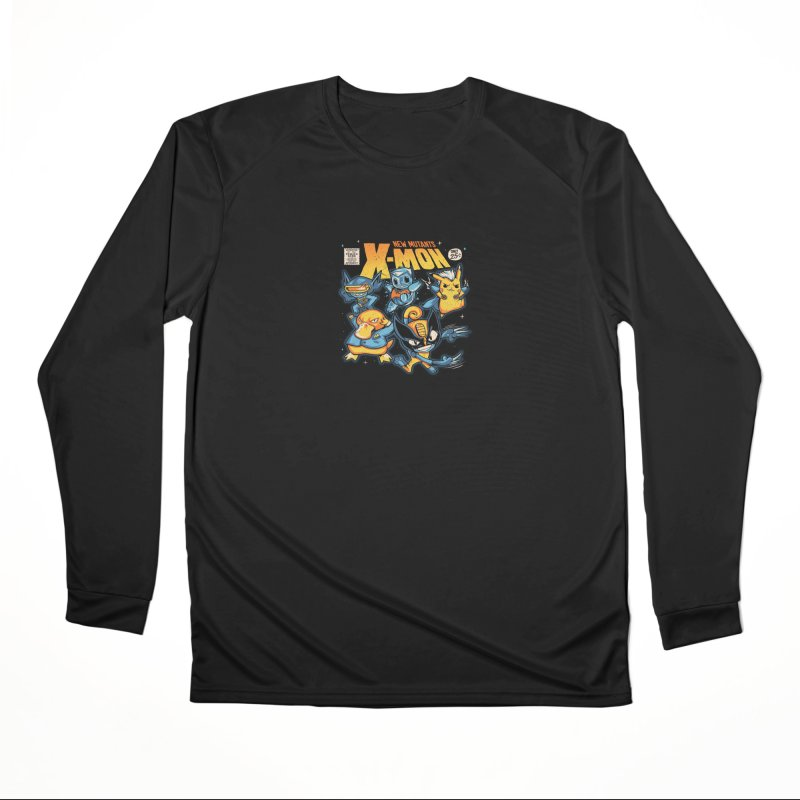 X-Mon Men's Performance Longsleeve T-Shirt by Red Bug's Artist Shop
