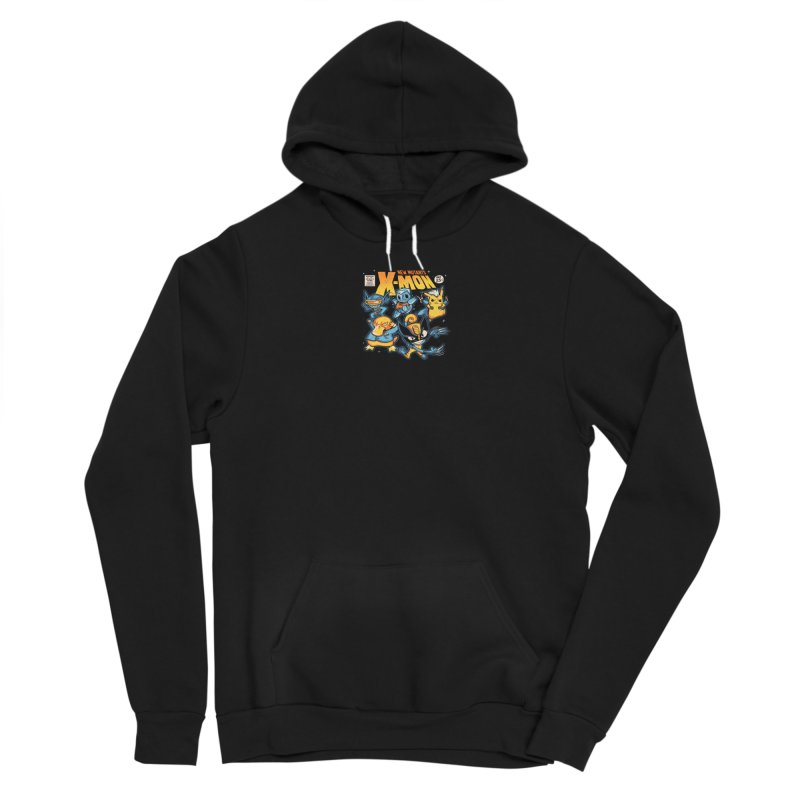 X-Mon Men's Sponge Fleece Pullover Hoody by Red Bug's Artist Shop