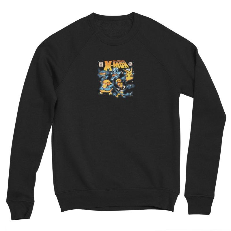 X-Mon Men's Sponge Fleece Sweatshirt by Red Bug's Artist Shop