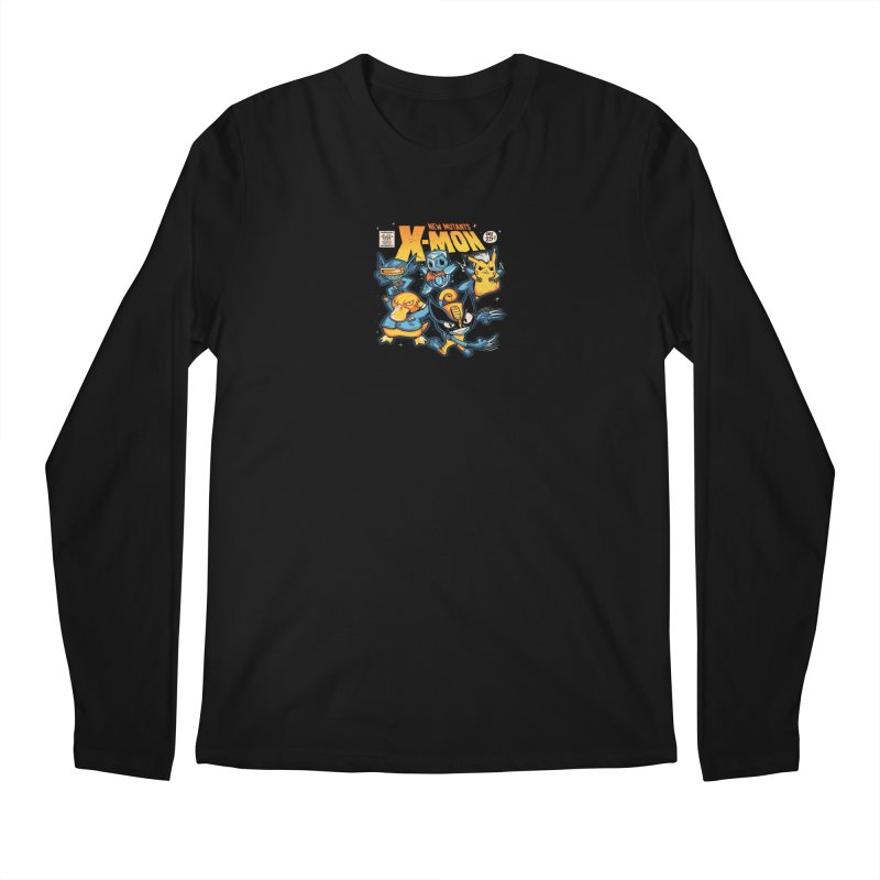 X-Mon Men's Regular Longsleeve T-Shirt by Red Bug's Artist Shop