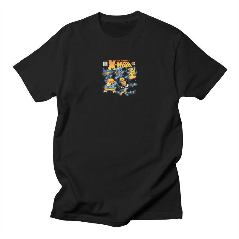 X-Mon Men's Regular T-Shirt by Red Bug's Artist Shop