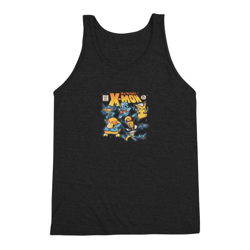 X-Mon Men's Triblend Tank by Red Bug's Artist Shop