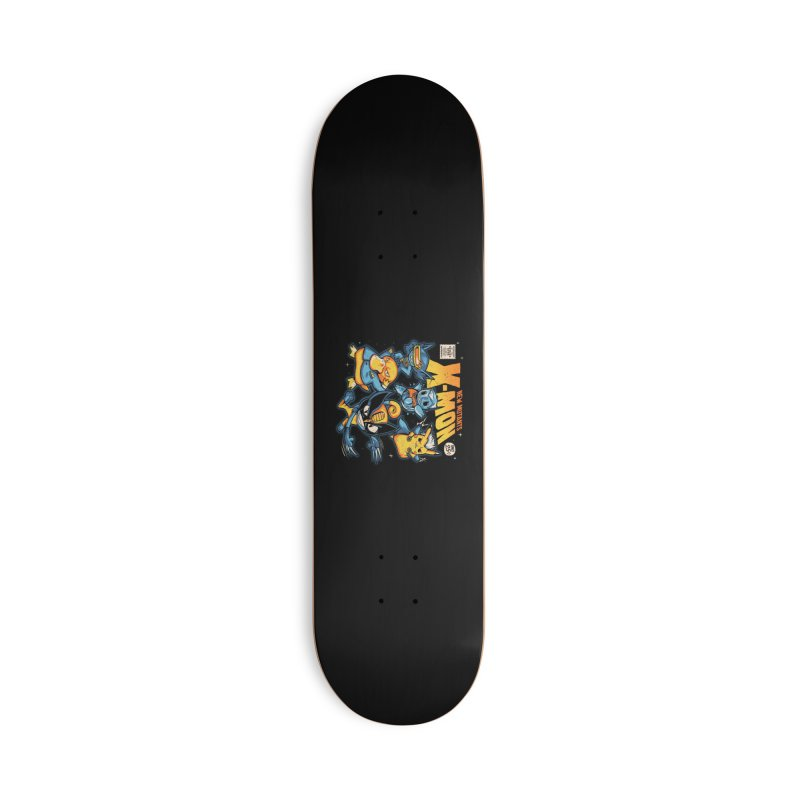 X-Mon Accessories Deck Only Skateboard by Red Bug's Artist Shop