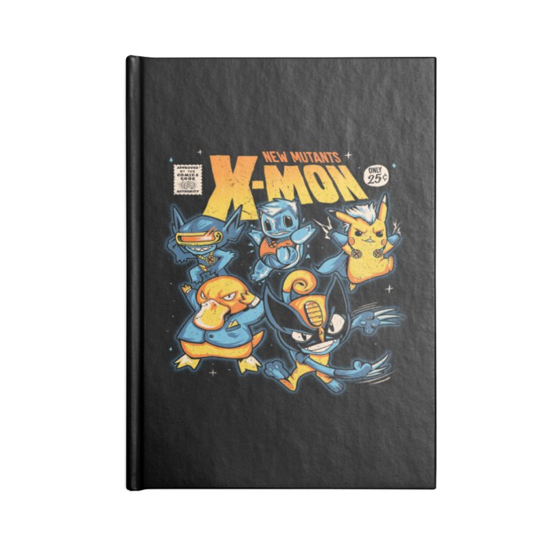 X-Mon Accessories Blank Journal Notebook by Red Bug's Artist Shop