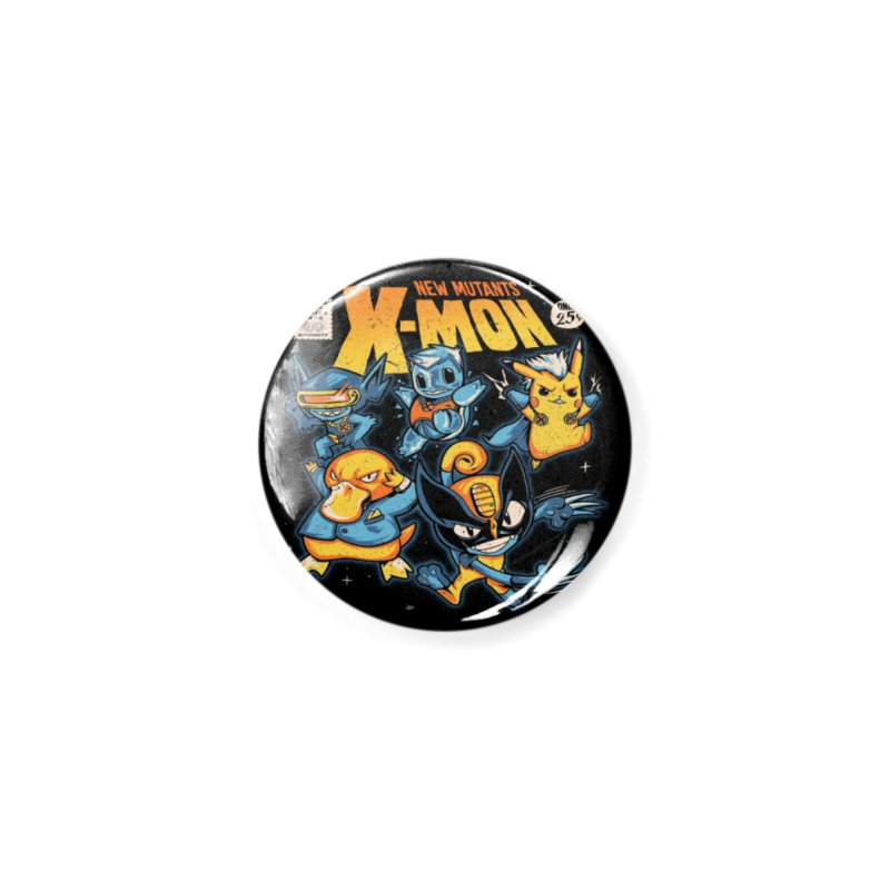 X-Mon Accessories Button by Red Bug's Artist Shop