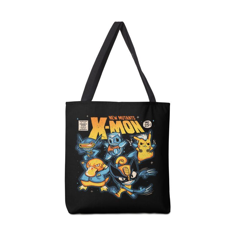 X-Mon Accessories Tote Bag Bag by Red Bug's Artist Shop