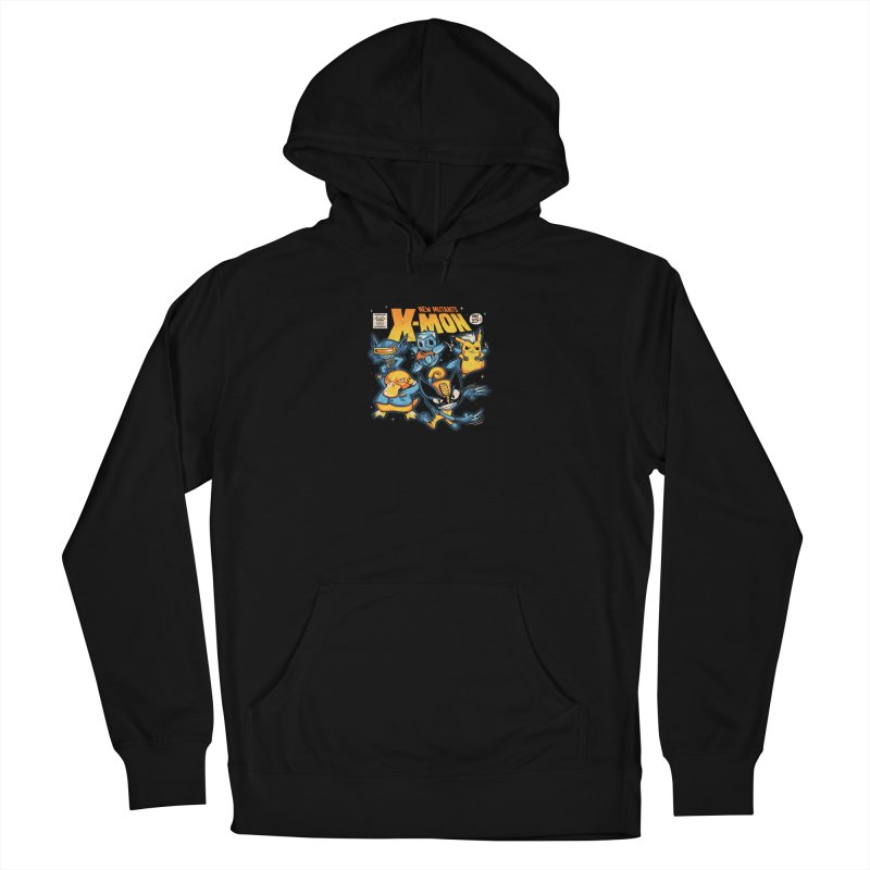 X-Mon Men's French Terry Pullover Hoody by Red Bug's Artist Shop