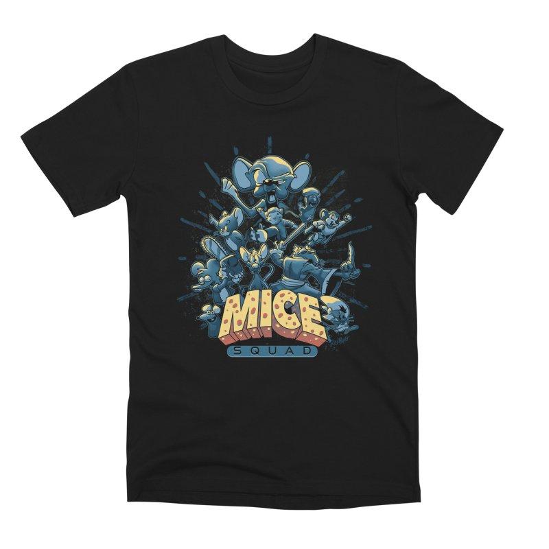 Mice Squad Men's Premium T-Shirt by Red Bug's Artist Shop