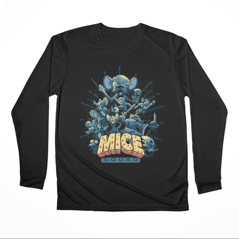 Mice Squad Men's Performance Longsleeve T-Shirt by Red Bug's Artist Shop