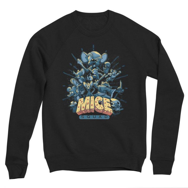 Mice Squad Men's Sponge Fleece Sweatshirt by Red Bug's Artist Shop