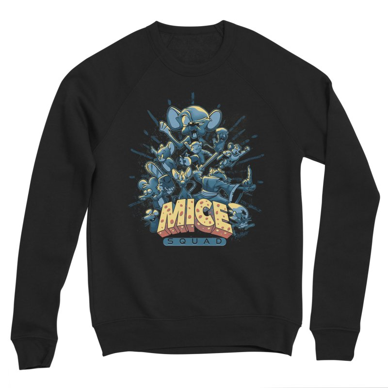 Mice Squad Women's Sponge Fleece Sweatshirt by Red Bug's Artist Shop