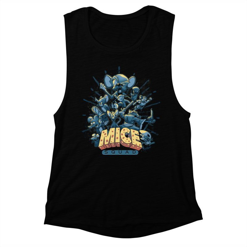 Mice Squad Women's Muscle Tank by Red Bug's Artist Shop