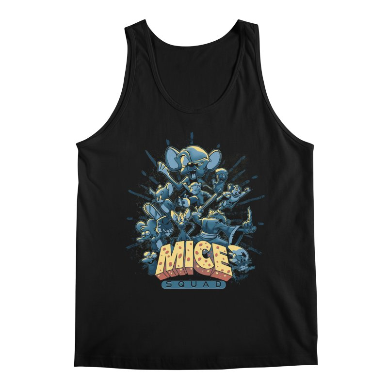 Mice Squad Men's Regular Tank by Red Bug's Artist Shop