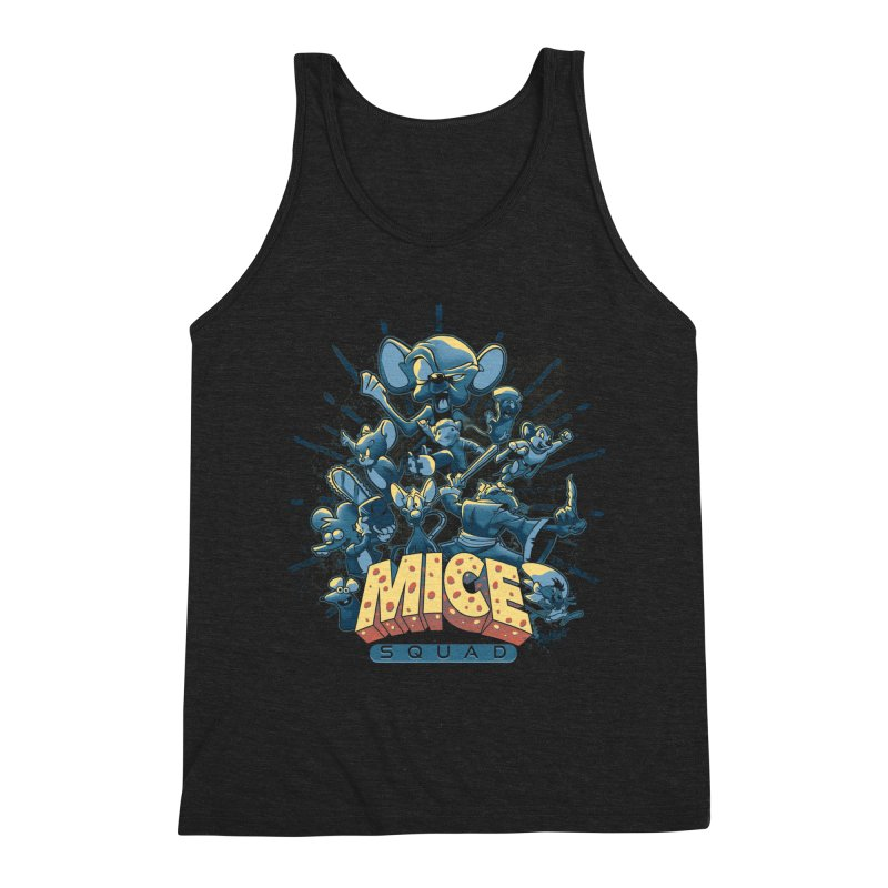 Mice Squad Men's Triblend Tank by Red Bug's Artist Shop