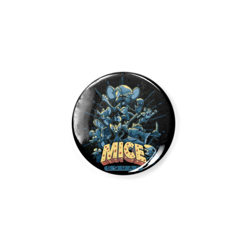 Mice Squad Accessories Button by Red Bug's Artist Shop