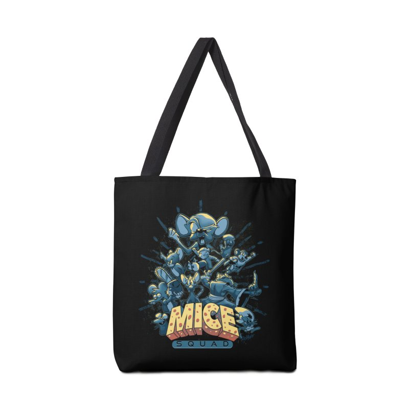 Mice Squad Accessories Tote Bag Bag by Red Bug's Artist Shop