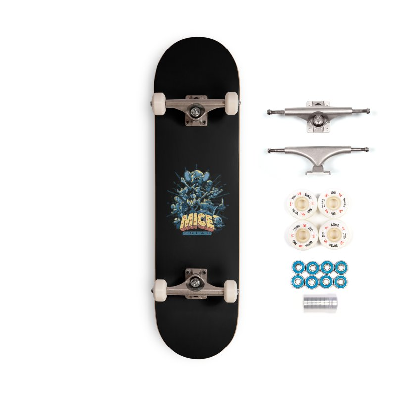 Mice Squad Accessories Complete - Premium Skateboard by Red Bug's Artist Shop