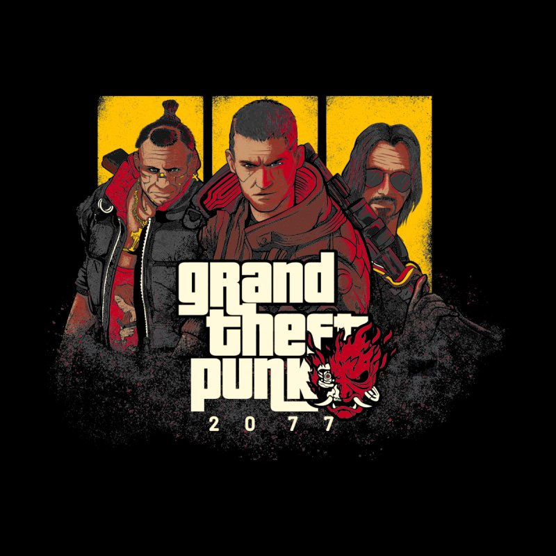Grand Theft Punk by Red Bug's Artist Shop