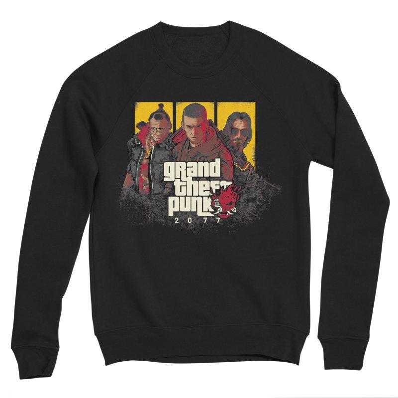 Grand Theft Punk Men's Sponge Fleece Sweatshirt by Red Bug's Artist Shop