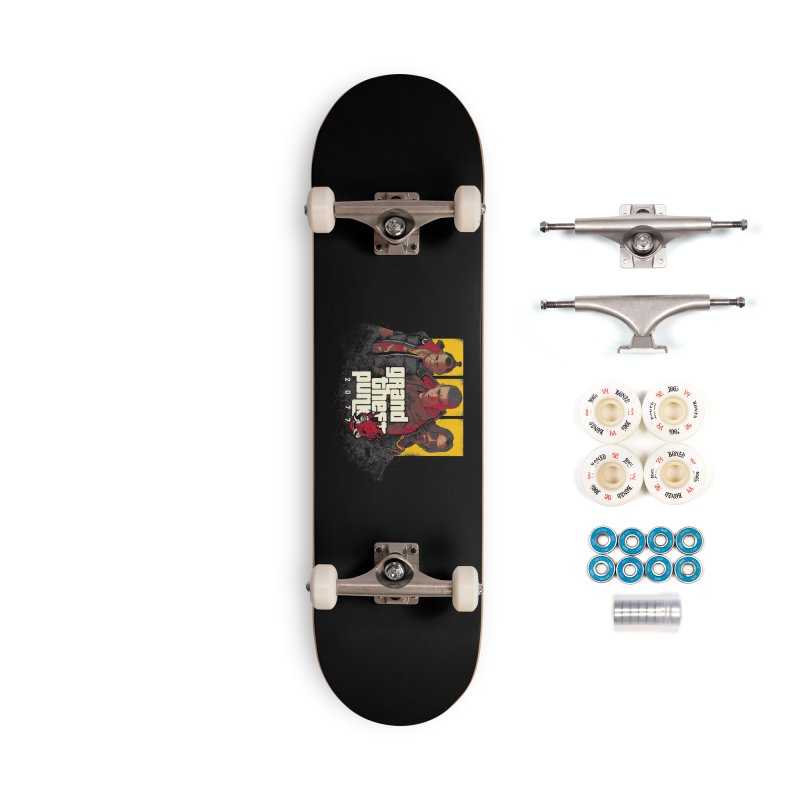 Grand Theft Punk Accessories Complete - Premium Skateboard by Red Bug's Artist Shop
