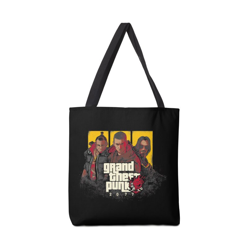 Grand Theft Punk Accessories Tote Bag Bag by Red Bug's Artist Shop