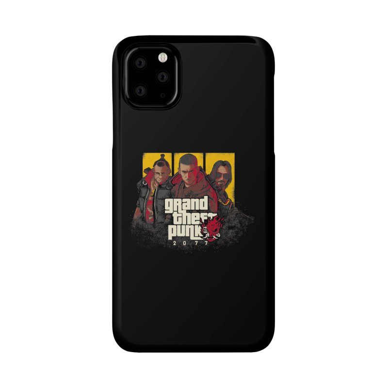 Grand Theft Punk Accessories Phone Case by Red Bug's Artist Shop