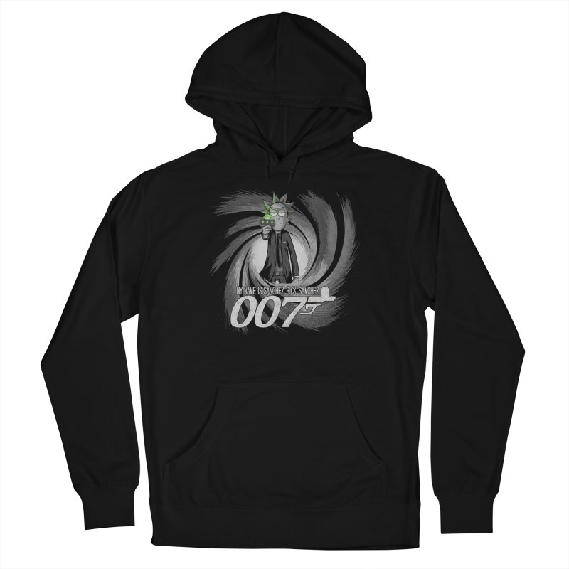 00Rick Men's French Terry Pullover Hoody by Red Bug's Artist Shop