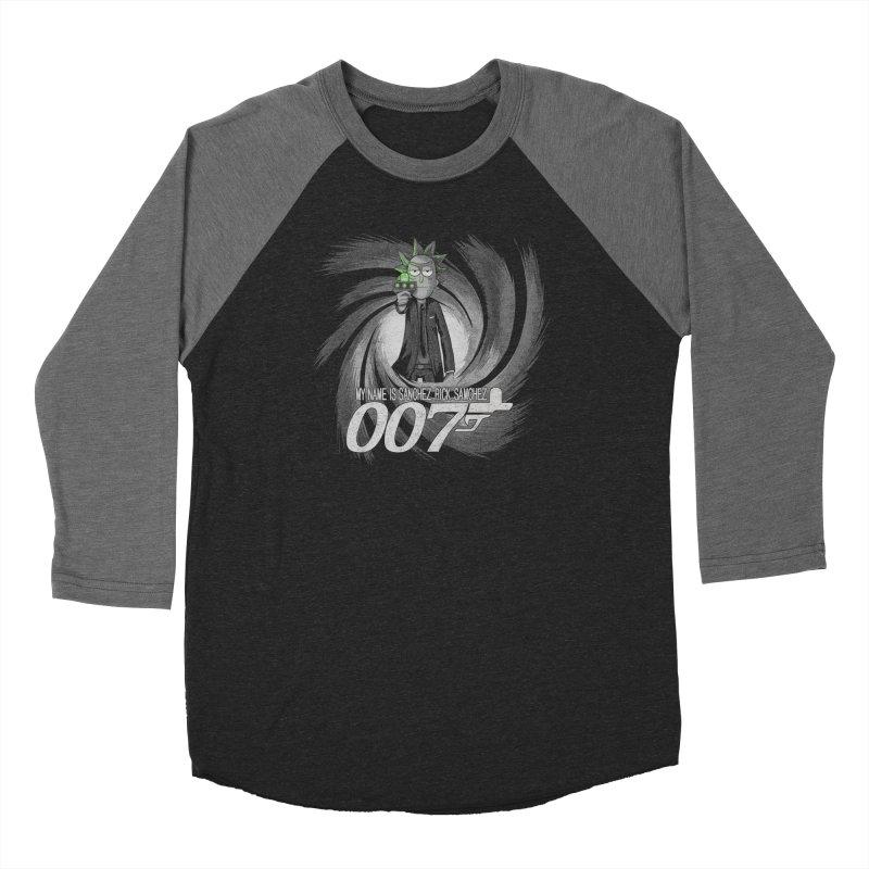 00Rick Men's Baseball Triblend Longsleeve T-Shirt by Red Bug's Artist Shop