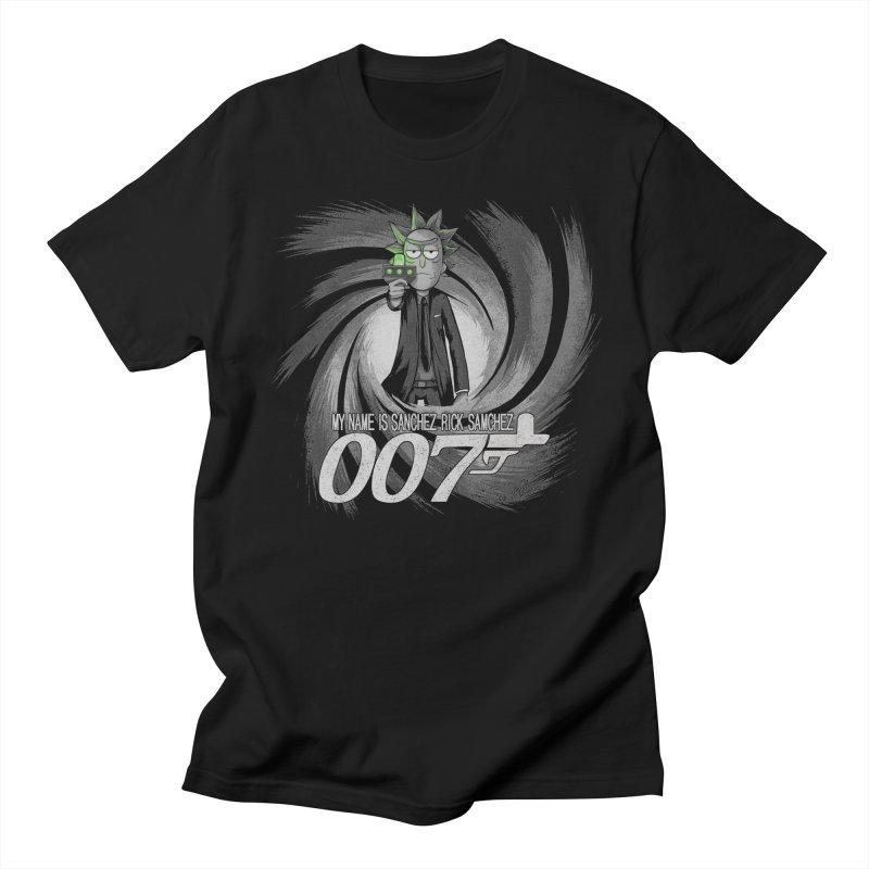 00Rick Women's Regular Unisex T-Shirt by Red Bug's Artist Shop