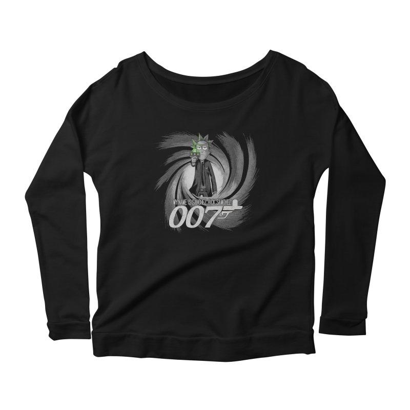 00Rick Women's Scoop Neck Longsleeve T-Shirt by Red Bug's Artist Shop
