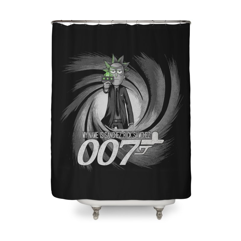 00Rick Home Shower Curtain by Red Bug's Artist Shop