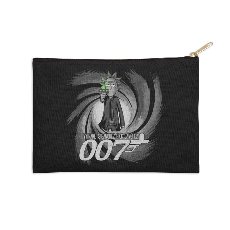 00Rick Accessories Zip Pouch by Red Bug's Artist Shop