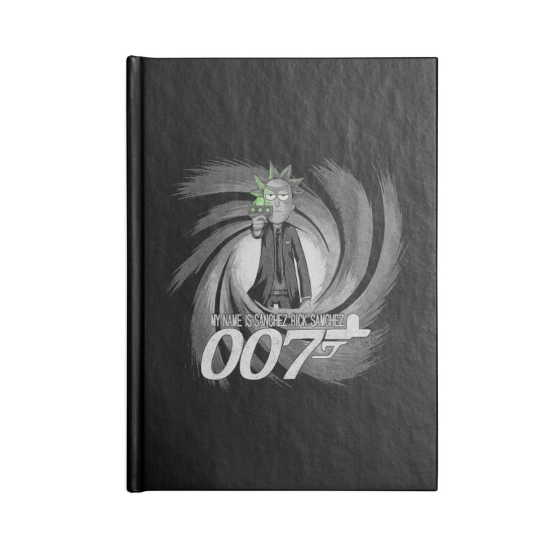 00Rick Accessories Blank Journal Notebook by Red Bug's Artist Shop