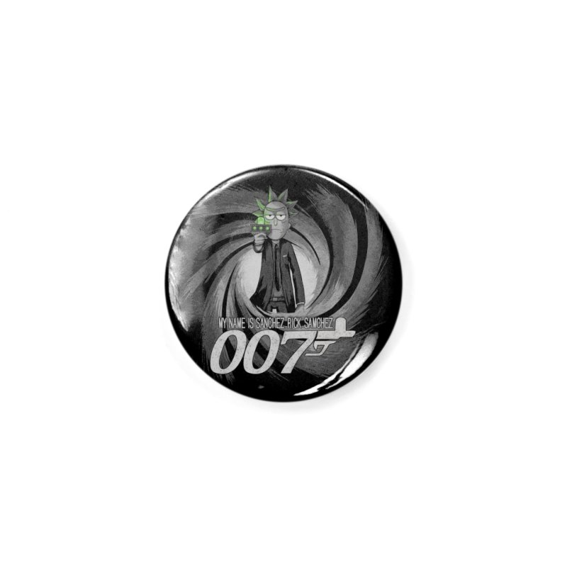 00Rick Accessories Button by Red Bug's Artist Shop