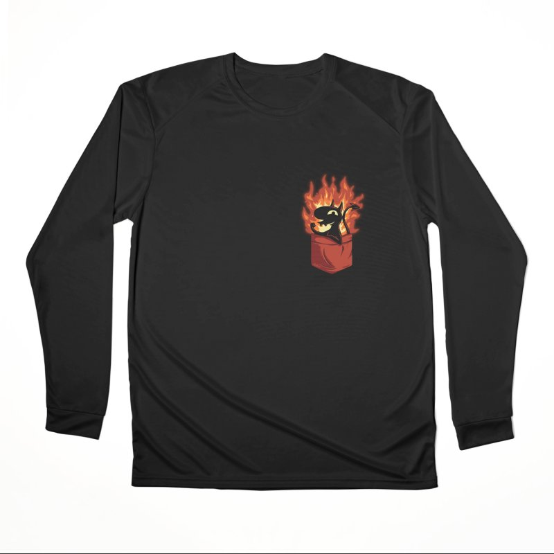 Do It! Men's Performance Longsleeve T-Shirt by Red Bug's Artist Shop