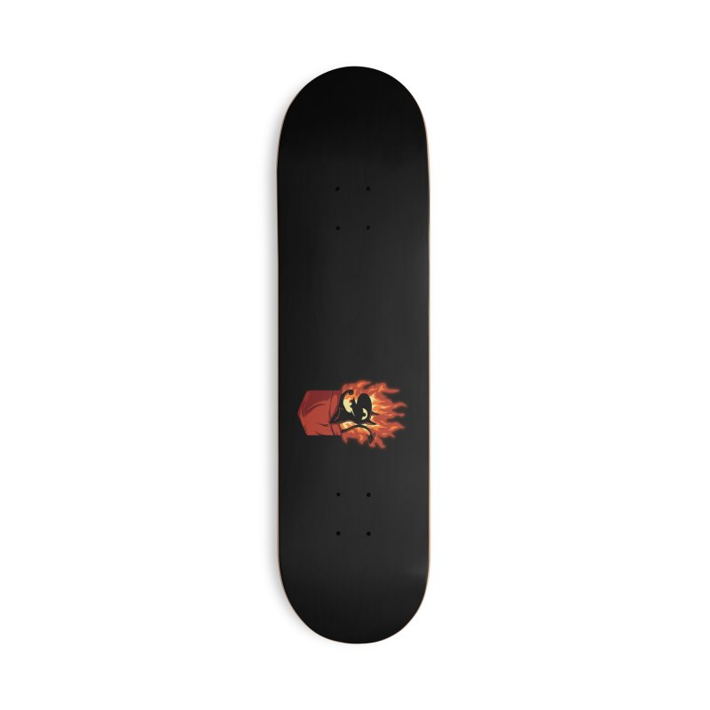 Do It! Accessories Deck Only Skateboard by Red Bug's Artist Shop