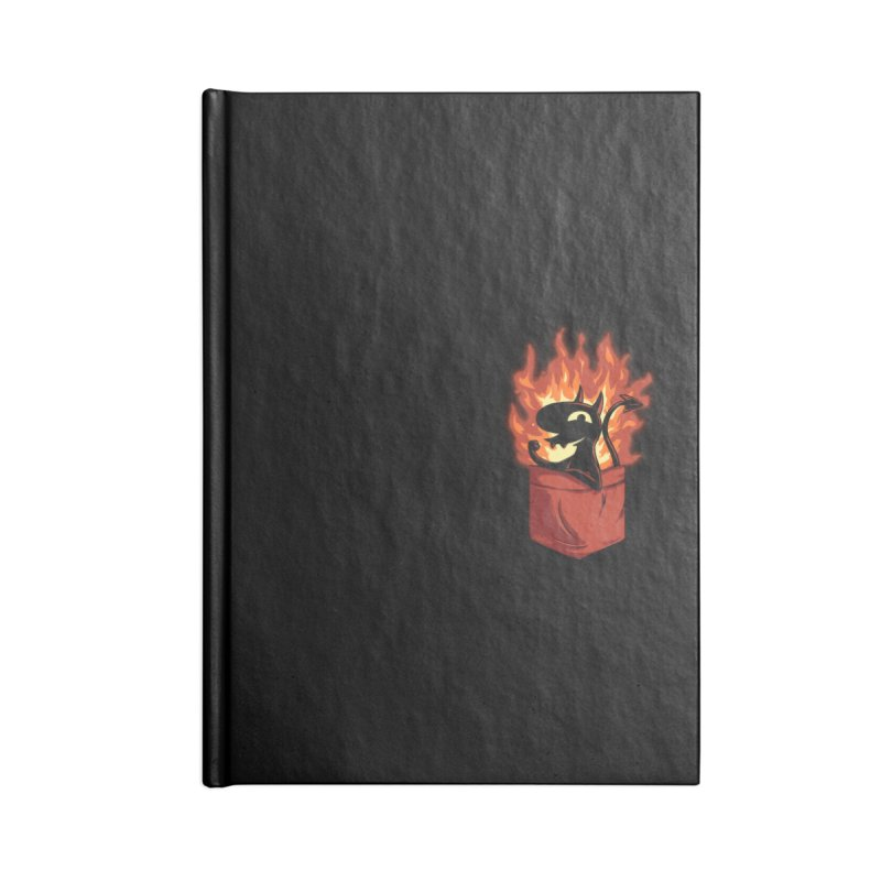 Do It! Accessories Lined Journal Notebook by Red Bug's Artist Shop