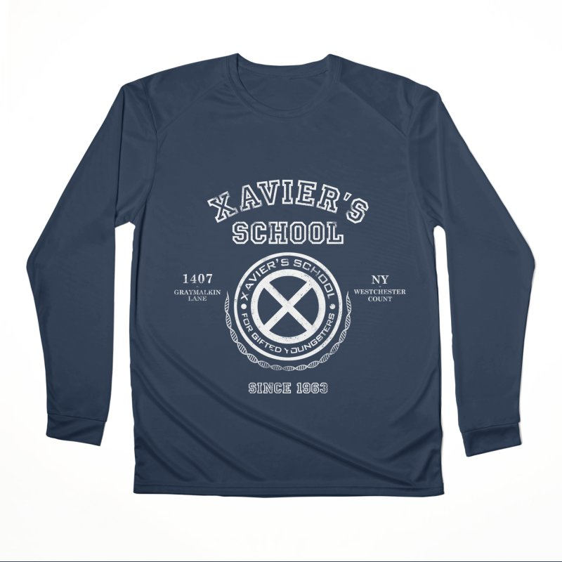Xavier's School Men's Performance Longsleeve T-Shirt by Red Bug's Artist Shop