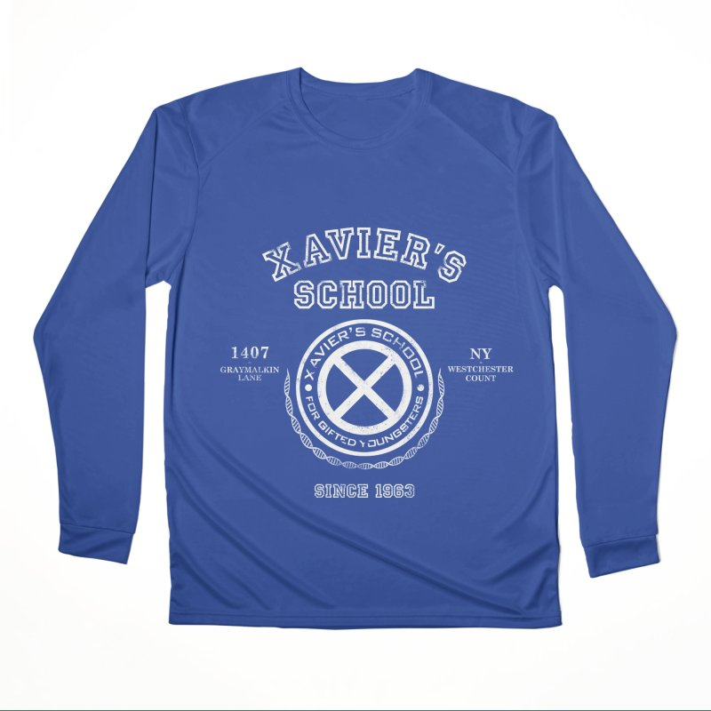 Xavier's School Women's Performance Unisex Longsleeve T-Shirt by Red Bug's Artist Shop