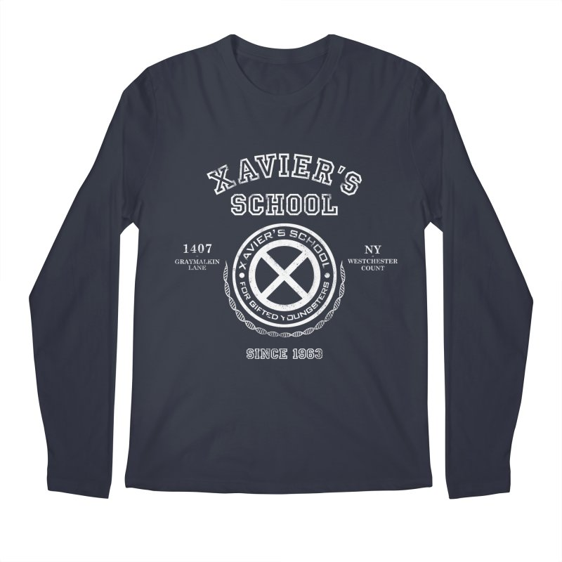 Xavier's School Men's Regular Longsleeve T-Shirt by Red Bug's Artist Shop
