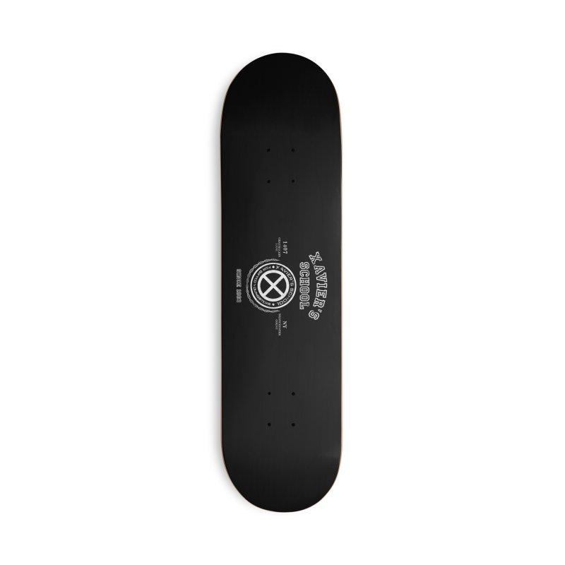 Xavier's School Accessories Deck Only Skateboard by Red Bug's Artist Shop