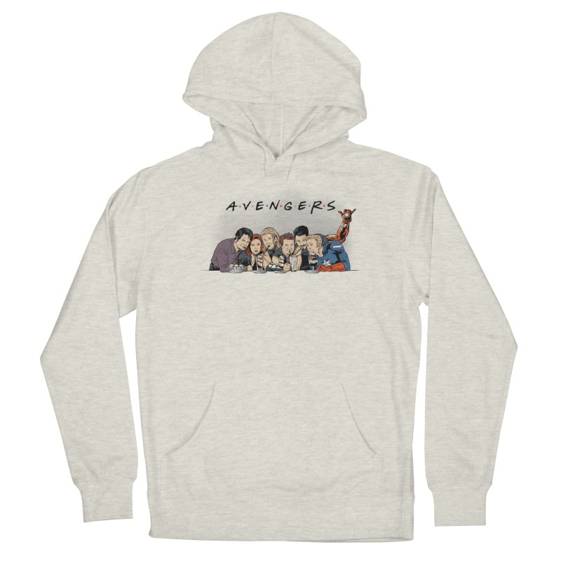 Avengers Men's French Terry Pullover Hoody by Red Bug's Artist Shop
