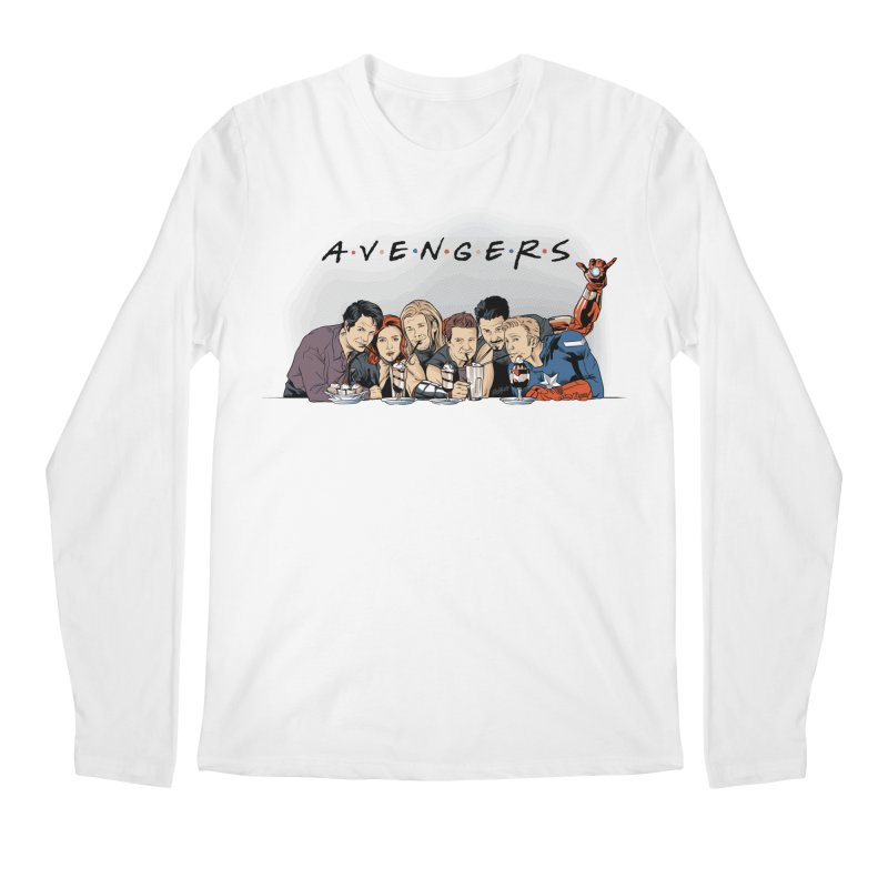 Avengers Men's Regular Longsleeve T-Shirt by Red Bug's Artist Shop