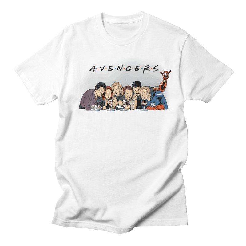 Avengers Men's Regular T-Shirt by Red Bug's Artist Shop