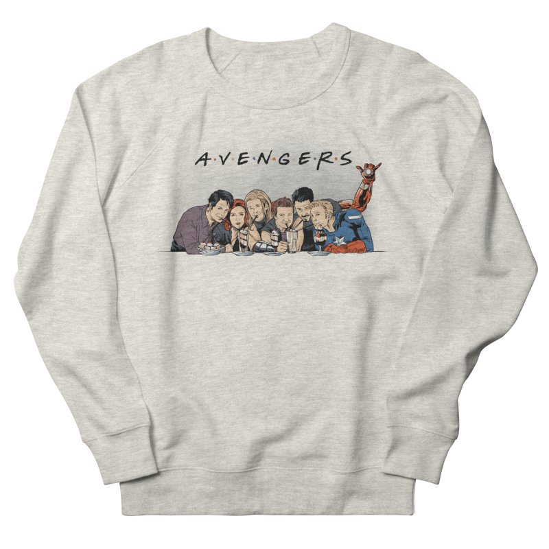Avengers Men's French Terry Sweatshirt by Red Bug's Artist Shop