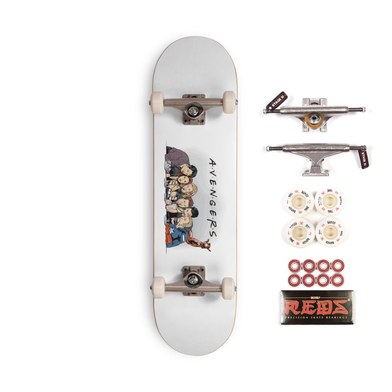 Avengers Accessories Complete - Pro Skateboard by Red Bug's Artist Shop