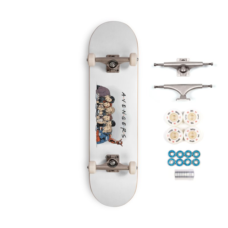Avengers Accessories Complete - Premium Skateboard by Red Bug's Artist Shop