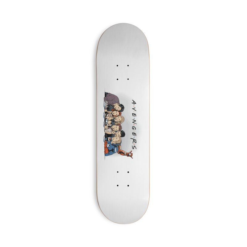 Avengers Accessories Deck Only Skateboard by Red Bug's Artist Shop